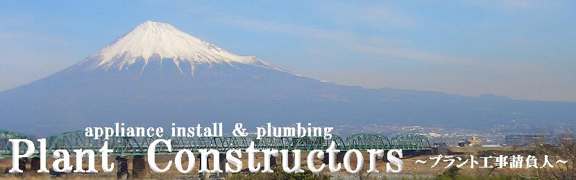 富士川河川敷から見た富士山 2009.01